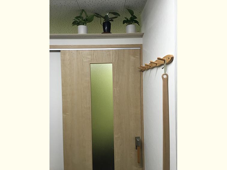 待合室から施術室